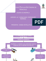 Division de La Teoria Económica