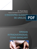 14h00 - PAULO ROBERTO BASTOS -II Encontro Sudeste de Urologia - Drogas Vasoativas