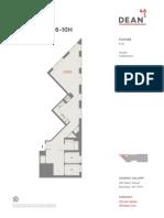 461 Dean Studio Floor Plans