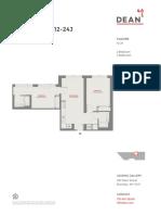 461 Dean 2 Br Floor Plans