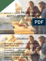 La Vision de Dios Segun Los Profetas Del Antiguo Testamento