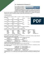 2016 PADRÃO 2 Fundamentos Química
