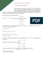 4 Ecuaciones Diofanticas Lineales