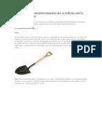 Principales Herramientas Manuales Que Se Utilizan Para La Construcción Civil
