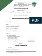 Practica 1 (Lenguaje en la Metrología)