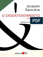 Docfoc.com-RANCIÈRE, Jacques. O Desentendimento - Política e Filosofia.pdf.pdf