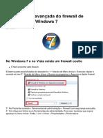 Configuracao Avancada Do Firewall de Seguranca Do Windows 7 7816 Mmkzge