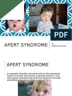 Apert Syndrome - Sultan Baroamaim
