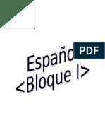 1. Español