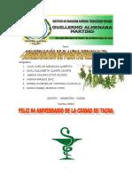 juan carlos mendoza  tema Conservacion Plantas Medicinales