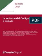 Cuadernos Lidon 12 - La Reforma Del Código Penal Al Debate