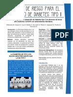 Articulo sobre riesgo de diabetes tipo II