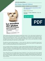 La Mentira Del Gluten (Spanish Edition)