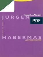 Jürgen Habermas - Israel o Atenas - OCR