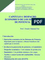 Pres Despacho Economico