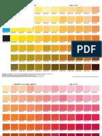 Tabela Pantone Para CMYK - Polo Criativo