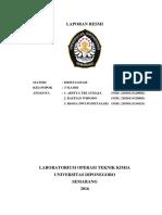 Laporan resmi Kristalisasi Kelompok 7 Kamis
