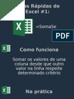 Dicas Rápidas de Excel x1