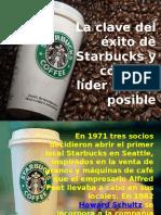 Exito de Starbucks