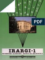 AA,VV. - Revista de Archivística