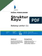 Modul Struktur Kayu