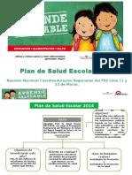 Plan de Salud Escolar 2014 Para Cajamarca