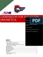 Investigacion Generador induccion magnetica