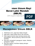 manajemen BBLR