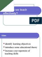 Principles of Teaching (Education 5)