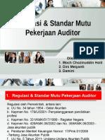 Regulasi Standar Mutu Pekerjaan Auditor