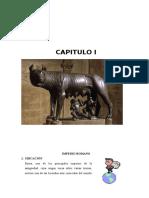 Capítulo I - Historia Del Derecho