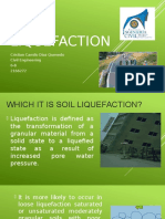 Soil Liquefaction