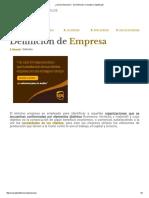 ¿Qué es Empresa_ - Su Definición, Concepto y Significado.pdf