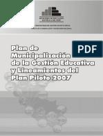Plan Municipalizacion Peru