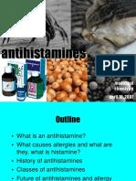 Antihistamine Presentation