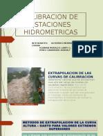 Calibracion de Estaciones Hidrometricas