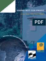For-Profit versus Not-for-Profit