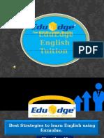 EduEdge English tuition Singapore :-http://eduedge-tuition.com/