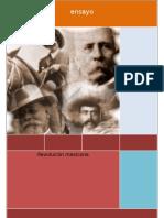 Ensayor revolucion mexicana