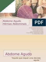 Seminário de Abdome Agudo e Hérnias Abdominais