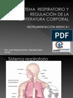 Sistema Respiratorio y Regulación de La Temperatura Corporal