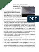 Meteorología; Trabajan en Desarrollo de Sistemas Regionales Para Alertar Eventos Extremos