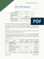 Snap 2009 Analysis