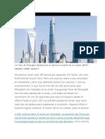 La Torre de Shanghái Destaca Por Su Altura en El Perfil de La Ciudad