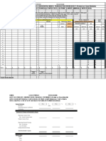 HORIZONTAL ACCOUNTING EXCEL TEMPLATE
