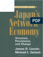 James R. Lincoln, Michael L. Gerlach-Japan's Network Economy Structure, Persistence, And Change (Structural Analysis in the So