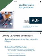 d 1 Low Smoke Zero Halogen Cables