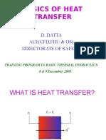 Basics of Heat Transfer