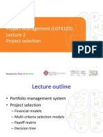 Project Management Lecture 2 2016 (Notes)