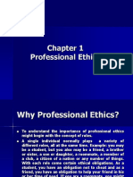 Chapter 1 - Professional Ethics